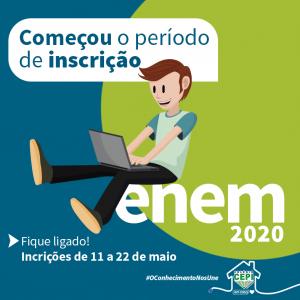 As inscrições para o ENEM estão abertas